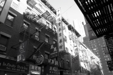 Chinatown - Doyers Street