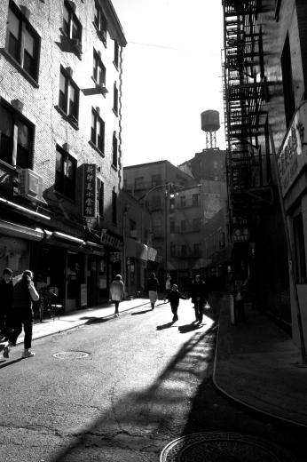 Doyers Street Shadows