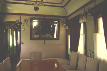 Stalins train conference room