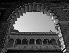 Sevilla - Alcazar Scalloped Archway Two 286