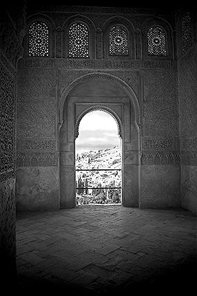 Granada - ALHAMBRA - Generalife Window286