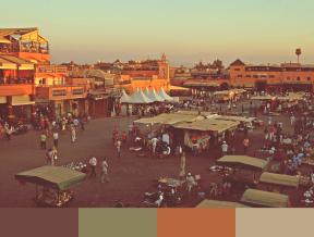 Jemaa el-Fnaa - Just One More - Color Palette
