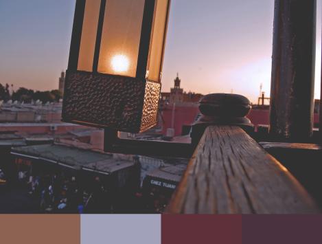 Jemaa el-Fnaa - Lantern Color Paletterev