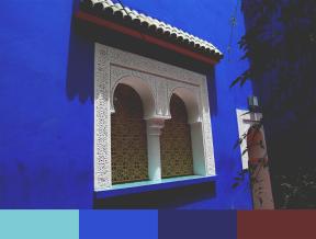 MAJORELLE WINDOW Color Palette copyrev