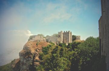 erice castle on a cloud v2